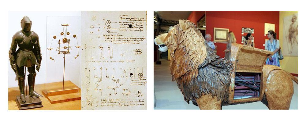 Leonardo da Vinci's robot