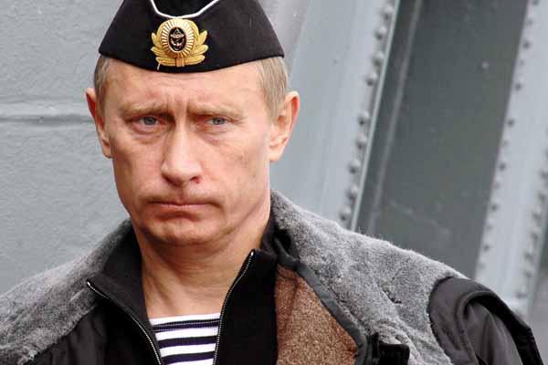 プーチン大統領 海兵隊