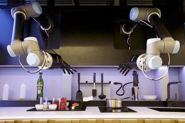 調理ロボット・モーリー