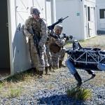 米海兵隊、最新の軍事用4足歩行ロボットをテスト