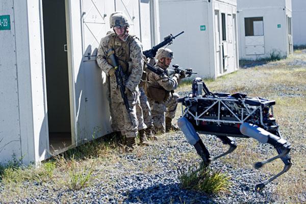 軍事ロボット・スポット(Spot)