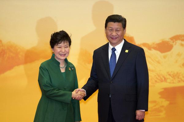 朴槿恵大統領と習近平ロボット分野でも提携