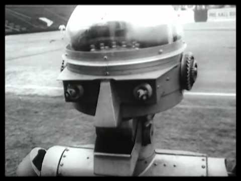 昔の野球のロボット審判
