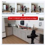 人間の行動を見守り間違いを指摘するロボット「ウォッチボット」