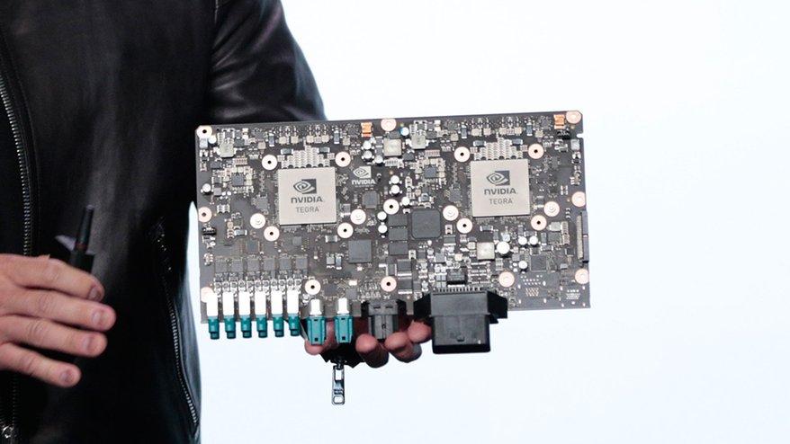 NVIDAドライブPX2