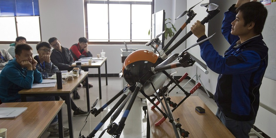 中国ドローン教室