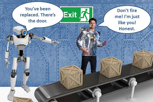 ロボットが人間の仕事を奪う