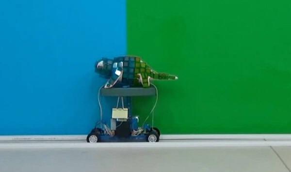 カメレオンロボット3