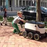 米ワシントンDC「配達用ロボットの運行を可能にする案を検討」