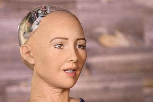人工知能ロボット_ソフィア