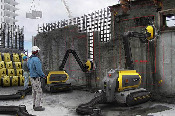 ERO_コンクリートリサイクリングロボット