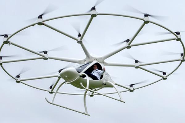 ドローンタクシー_Volocopter_ボロコプター