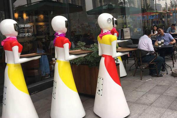 中国秘書ロボットとデート2