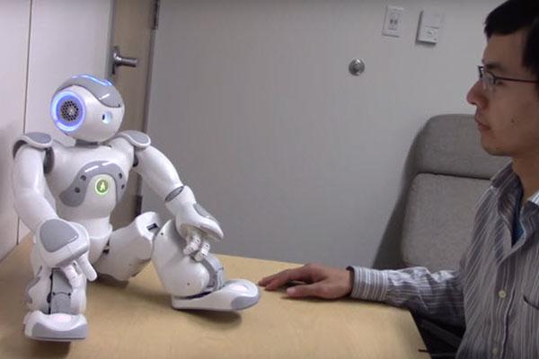 ロボットに性的反応