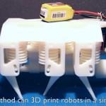 MIT「液体を3Dプリントして水圧式ロボットを開発しました」