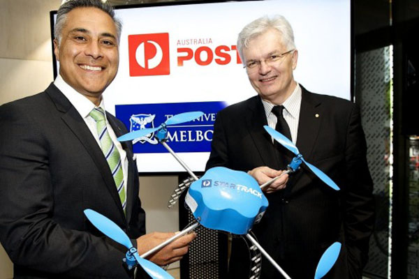 オーストラリア郵便局_ドローン