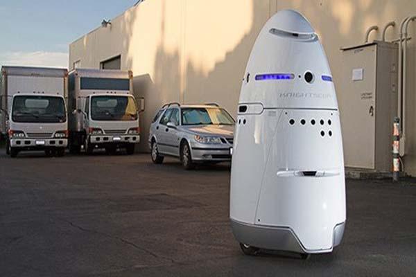 中国警備用ロボット
