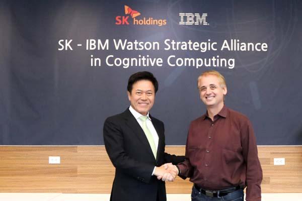 skc&cとIBMが人工知能で契約