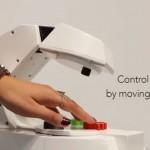 SKテレコム、スマートホーム用ロボット「ブイヨ」を初公開