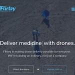 ドローン企業・フラーティーが医薬品などの海上輸送に成功