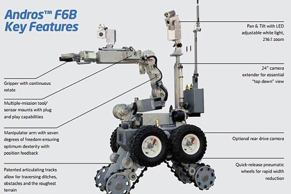 ロボット_テキサス警察