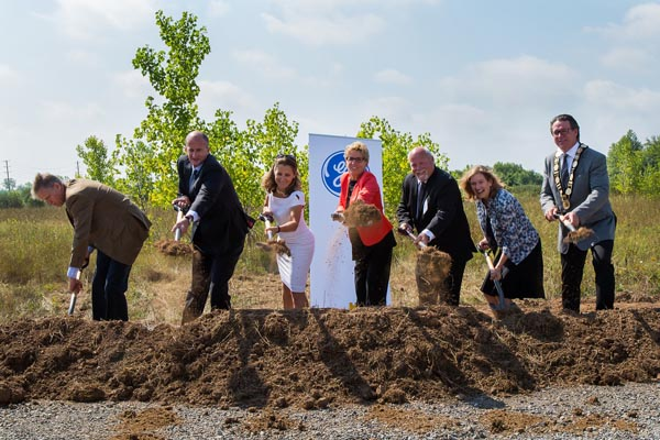 2016 GE Brilliant Welland Factory Sod Turning Ceremony