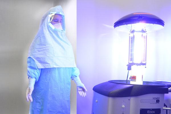 ロボット_超強力な紫外線_XENEX2