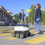 スイスポストが配達ロボットの運用を大都市でテスト開始