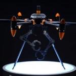 プロドローンがアームが付いた空中ロボット型ドローンを公開