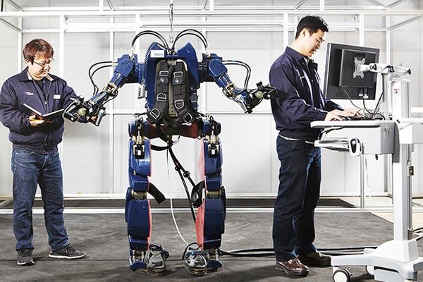 ウェアラブルロボット_ヒュンダイ