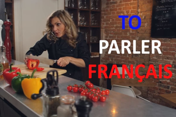 フレンチナンバー_フランス人と電話