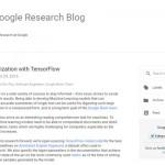 Googleが文章を要約する人工知能の開発動向を公開