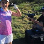 8歳のゴルフ少女がドローン撃墜…ドローンキラーの異名を授かる