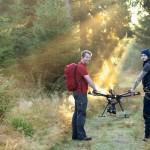 時間が9割も短縮…山火事や病害虫対策で大活躍するドローン「森林調査」