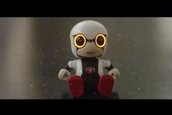 ロボット_トヨタ_KIROBOmini