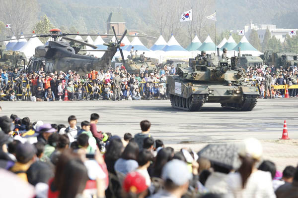 韓国陸軍フェスティバル
