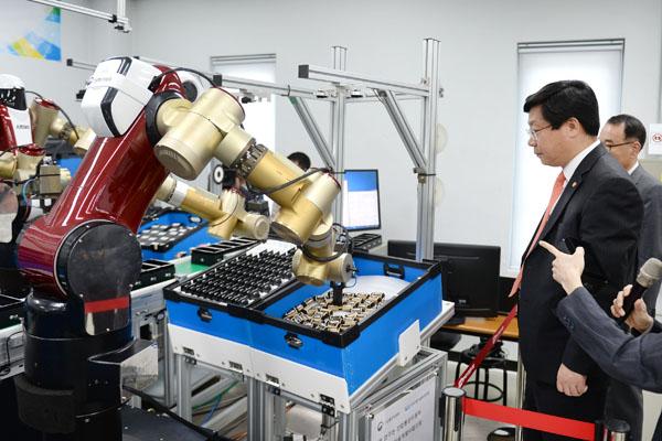 産業用ロボット_韓国政府_投資
