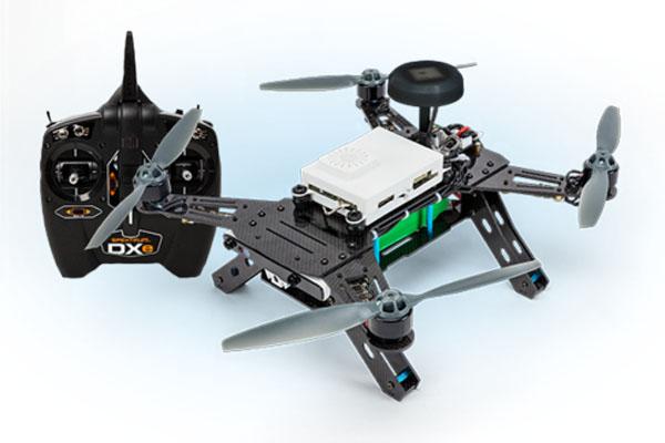 インテル_ドローン_自作キット_Aero Ready to Fly Drone