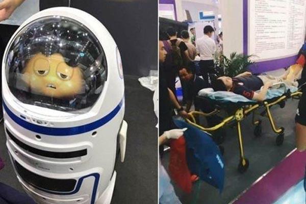 ロボット_暴走_中国