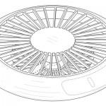 まるで扇風機!?…サムスンが独創的デザインのドローン特許出願