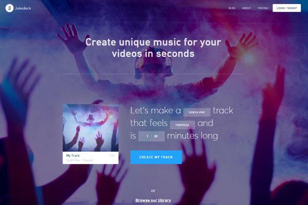人工知能_jukedeck_音楽AI