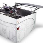 ドローンの完全自律タスクを支援する格納庫「ロボットボックス」登場