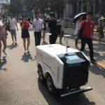 Eコマースの世界最大市場の中国でロボット配送が本格スタート