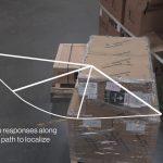 倉庫内の荷物情報を伝える「ドローン×RFIDシステム」…Parrot社製ホビードローンを使用