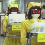 タイ・バンコクの総合病院に看護師ロボットが登場…院内の運搬作業を担当