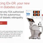 医者に代わり診断を下すAI医療機器「IDx-DR」が米国で初めて認可...糖尿病網膜症を1分で判定