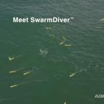 水の中で群集遊泳するロボットを公開…米Aquabotix社