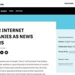 米国成人の73%がニュース配信のパーソナライズに否定的…ナイト財団調査