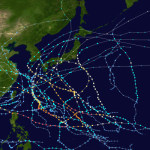 台風の進路をAI=ディープラーニングで予測...韓国科学技術情報研究院