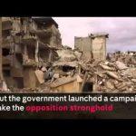 シリア内戦の惨状をドローンで撮影した動画が公開される